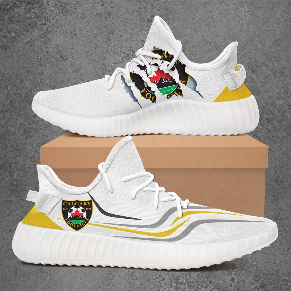 Calgary Foothills Fc Usl League Two Sport Teams Yeezy Sneakers Shoes White