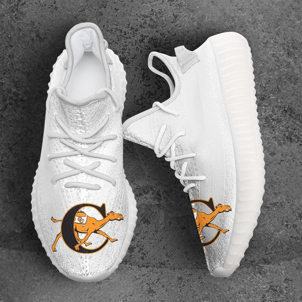 Campbell Fighting Camels Ncaa Sport Teams Yeezy Sneakers Shoes