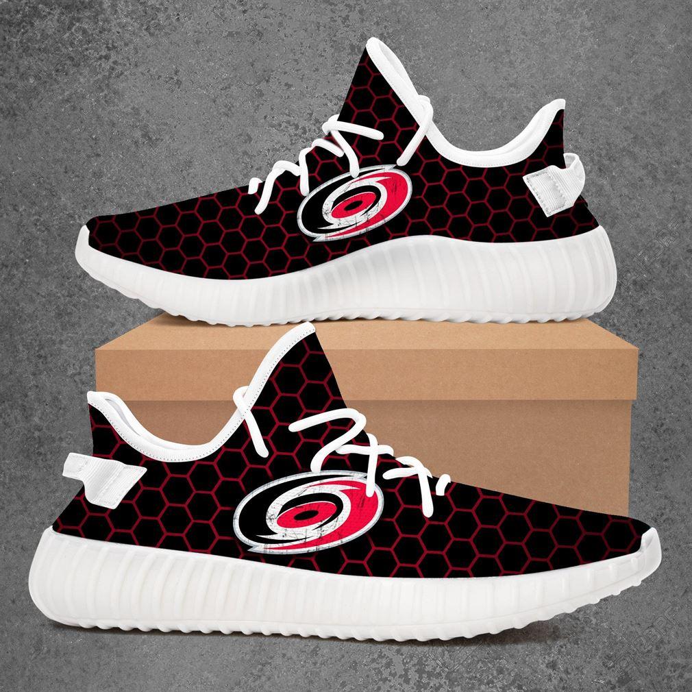 Carolina Hurricanes Nhl Hockey Yeezy Sneakers Shoes