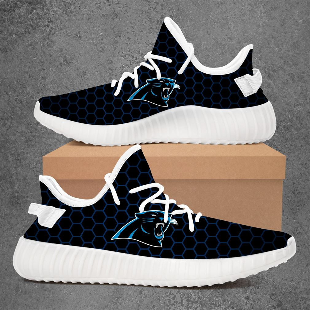 Carolina Panthers Nhl Hockey Yeezy Sneakers Shoes
