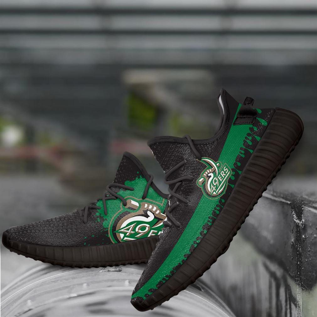 Charlotte 49ers Ncaa Yeezy Sneakers Shoes