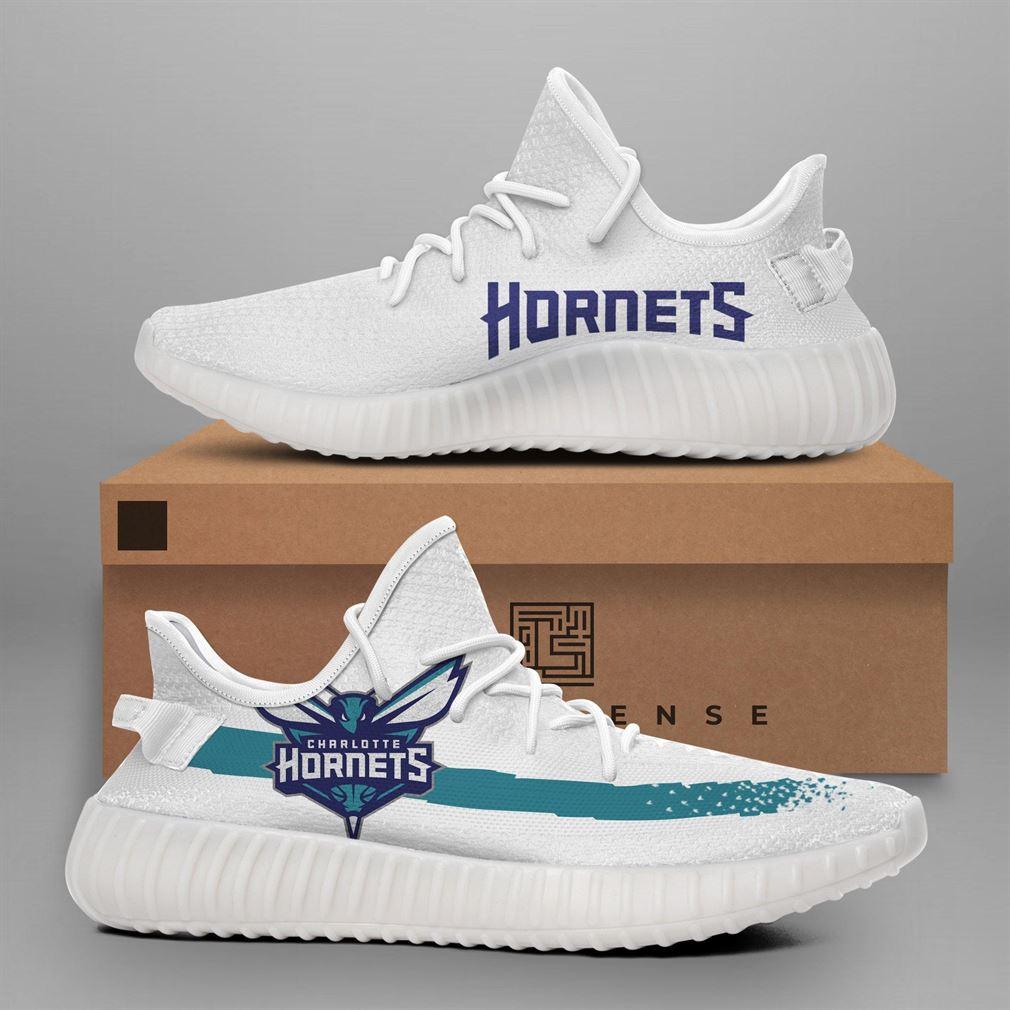 Charlotte Hornets Nba Teams Runing Yeezy Sneakers Shoes