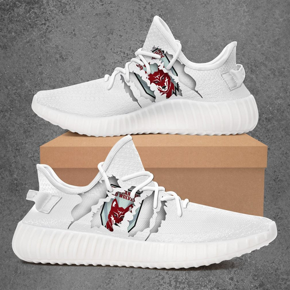 Chattanooga Red Wolves Sc Usl League One Sport Teams Yeezy Sneakers Shoes White