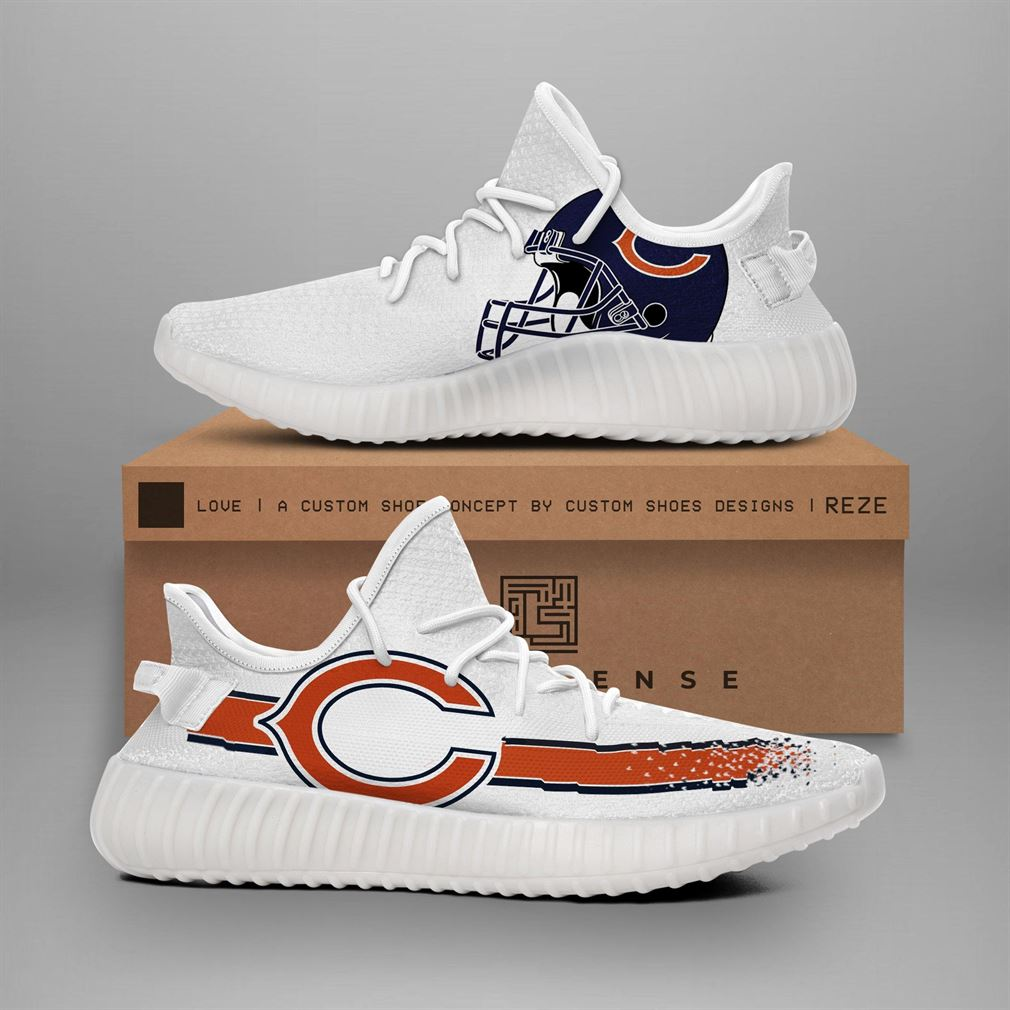 Chicago Bears Nfl Teams Yeezy Sneakers Shoes