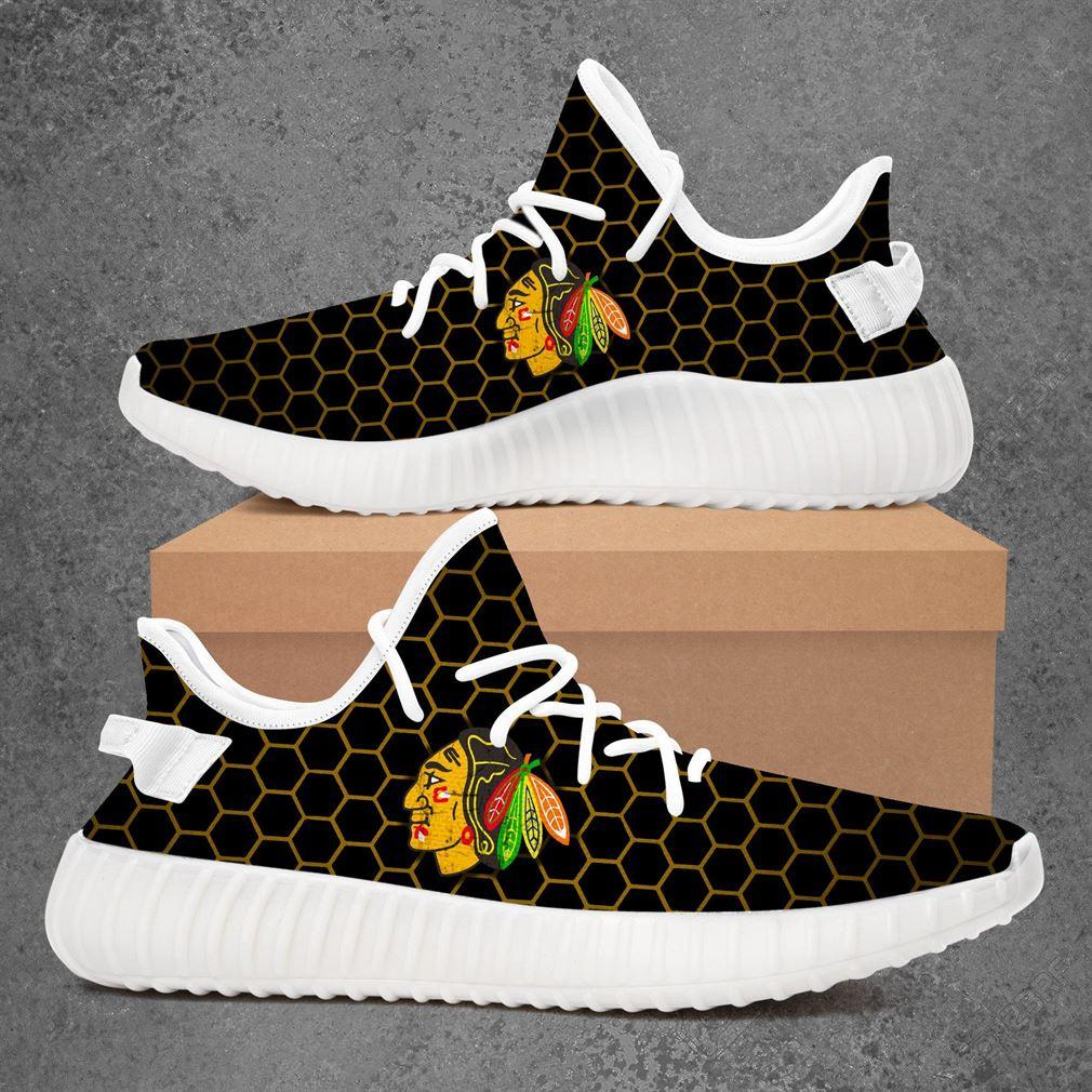 Chicago Blackhawks Nhl Hockey Yeezy Sneakers Shoes