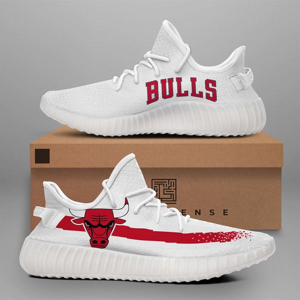 Chicago Bulls Nba Teams Runing Yeezy Sneakers Shoes