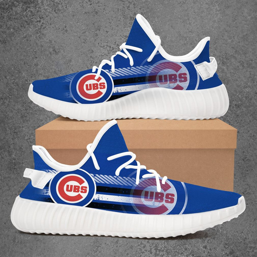 Chicago Cubs Mlb Baseball Yeezy Sneakers Shoes