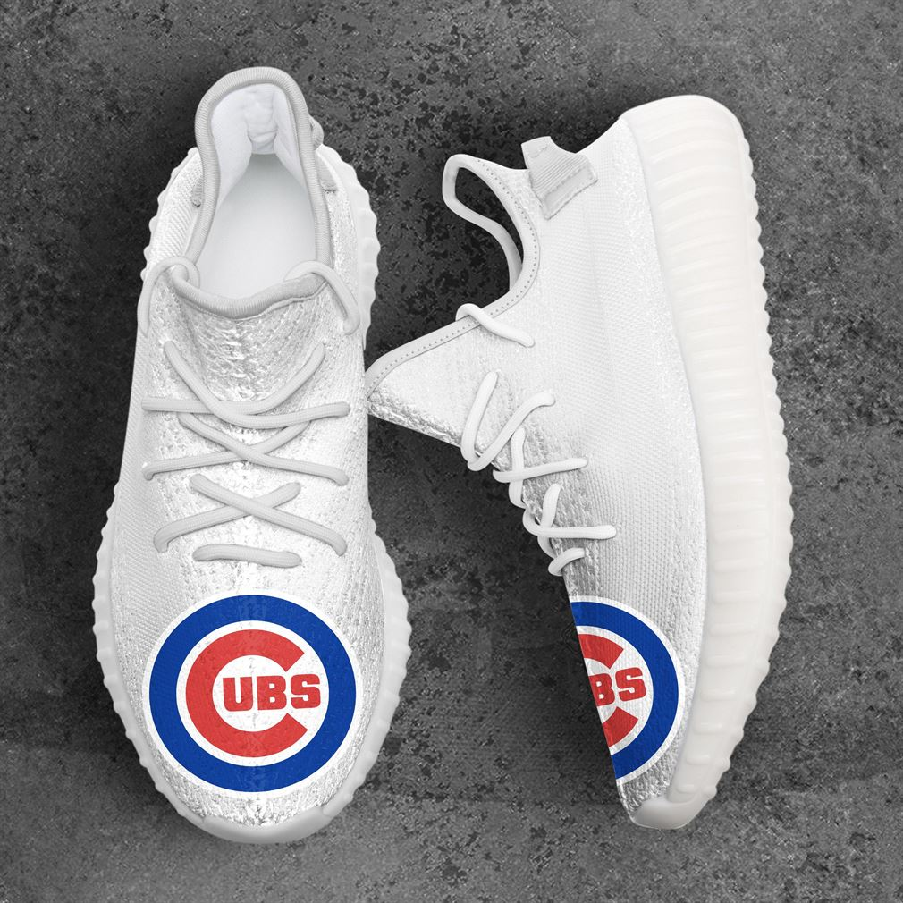 Chicago Cubs Mlb Sport Teams Yeezy Sneakers Shoes
