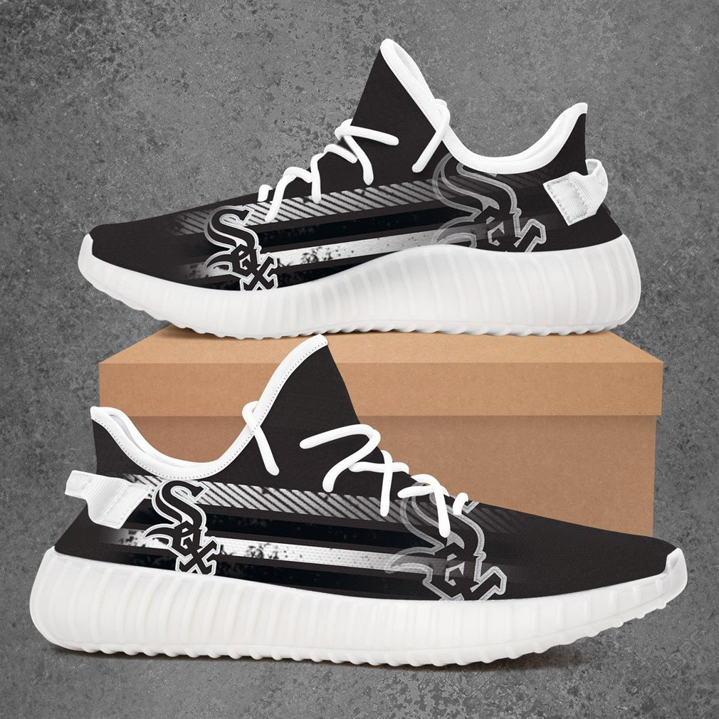 Chicago White Sox Mlb Baseball Yeezy Sneakers Shoes