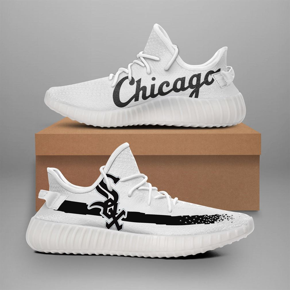 Chicago White Sox Mlb Teams Runing Yeezy Sneakers Shoes