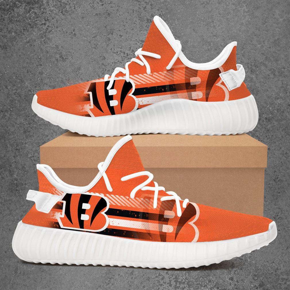 Cincinnati Bengals Nfl Football Yeezy Sneakers Shoes
