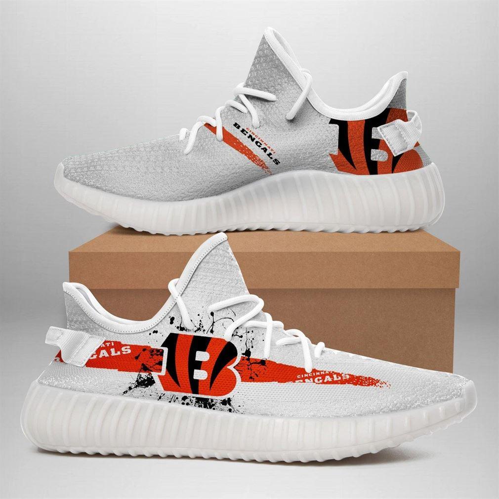 Cincinnati Bengals Nfl Sport Teams Runing Yeezy Sneakers Shoes