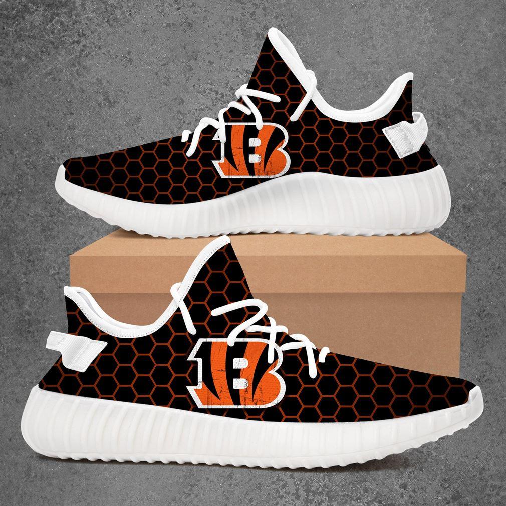 Cincinnati Bengals Nhl Hockey Yeezy Sneakers Shoes