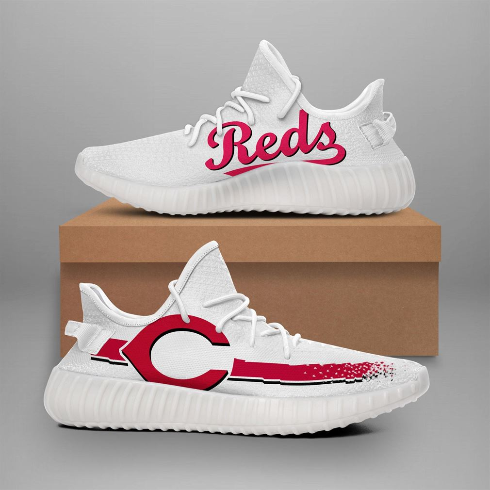 Cincinnati Reds Mlb Teams Runing Yeezy Sneakers Shoes