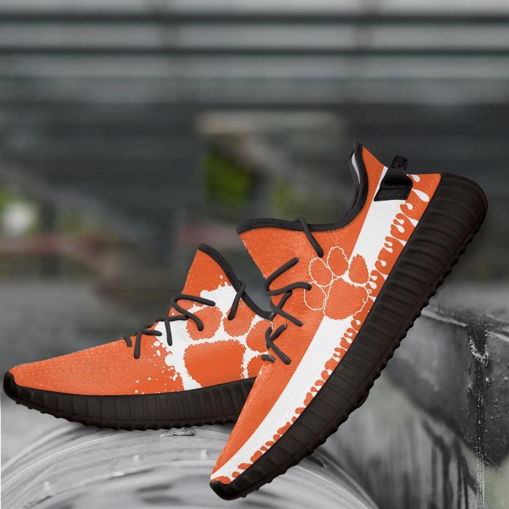 Clemson Tigers Ncaa Yeezy Sneakers Shoes