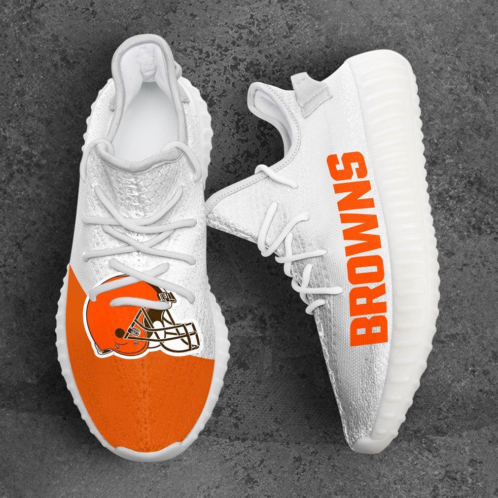 Cleveland Browns Nfl Sport Teams Yeezy Sneakers