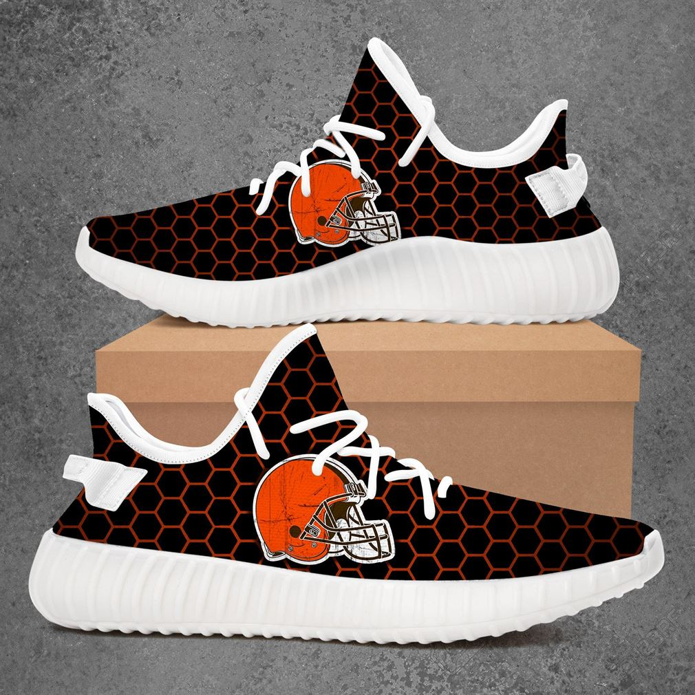 Cleveland Browns Nhl Hockey Yeezy Sneakers Shoes