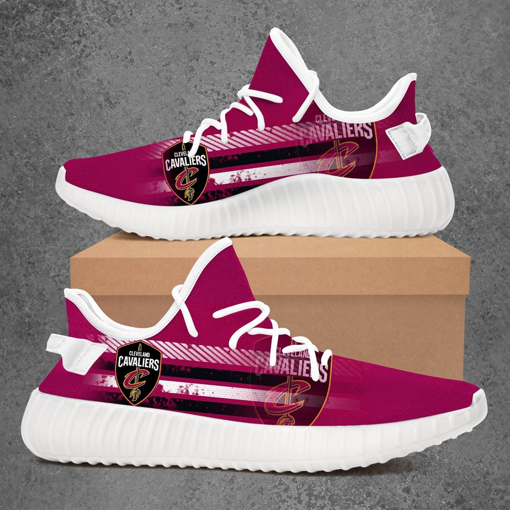 Cleveland Cavaliers Nba Basketball Yeezy Sneakers Shoes