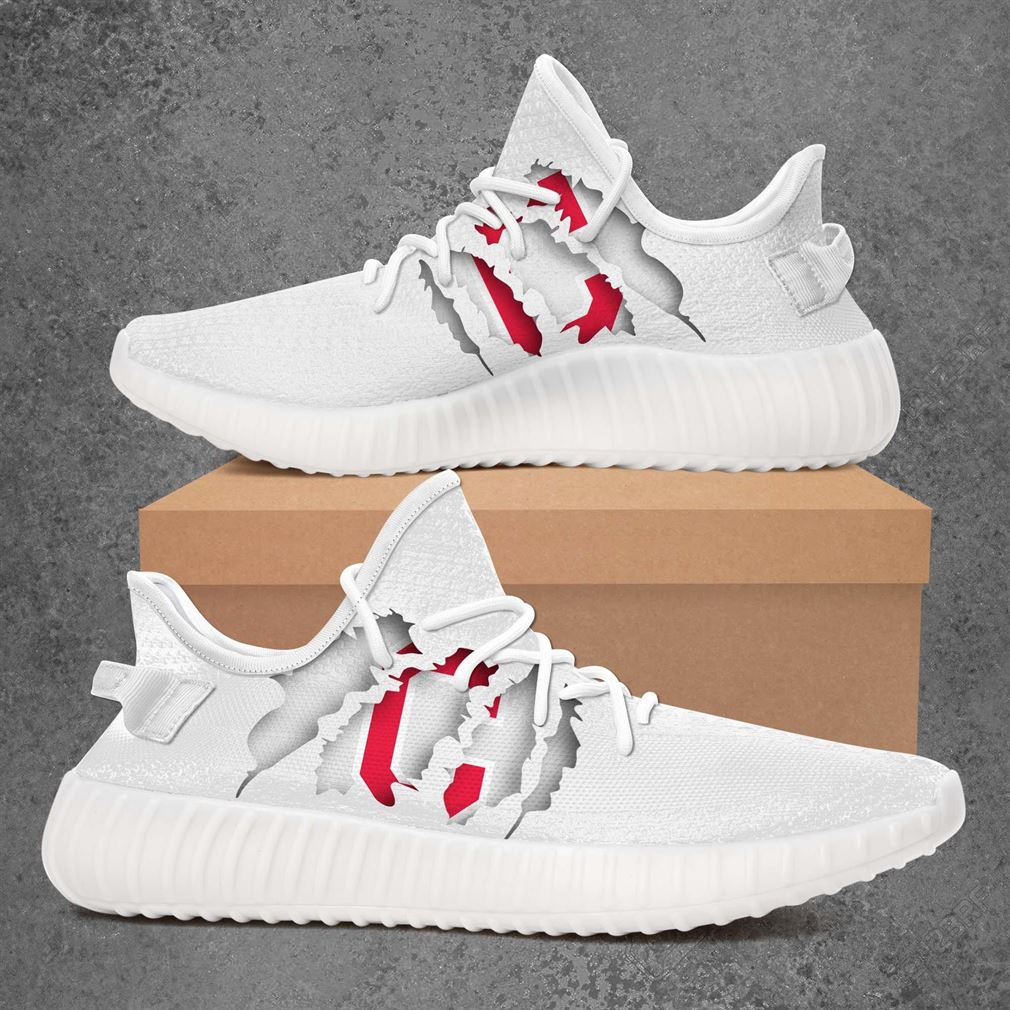 Cleveland Indians Mlb Sport Teams Yeezy Sneakers Shoes
