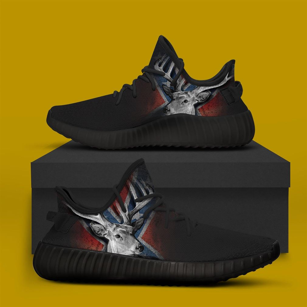 Deer Flag Runing Yeezy Sneakers Shoes