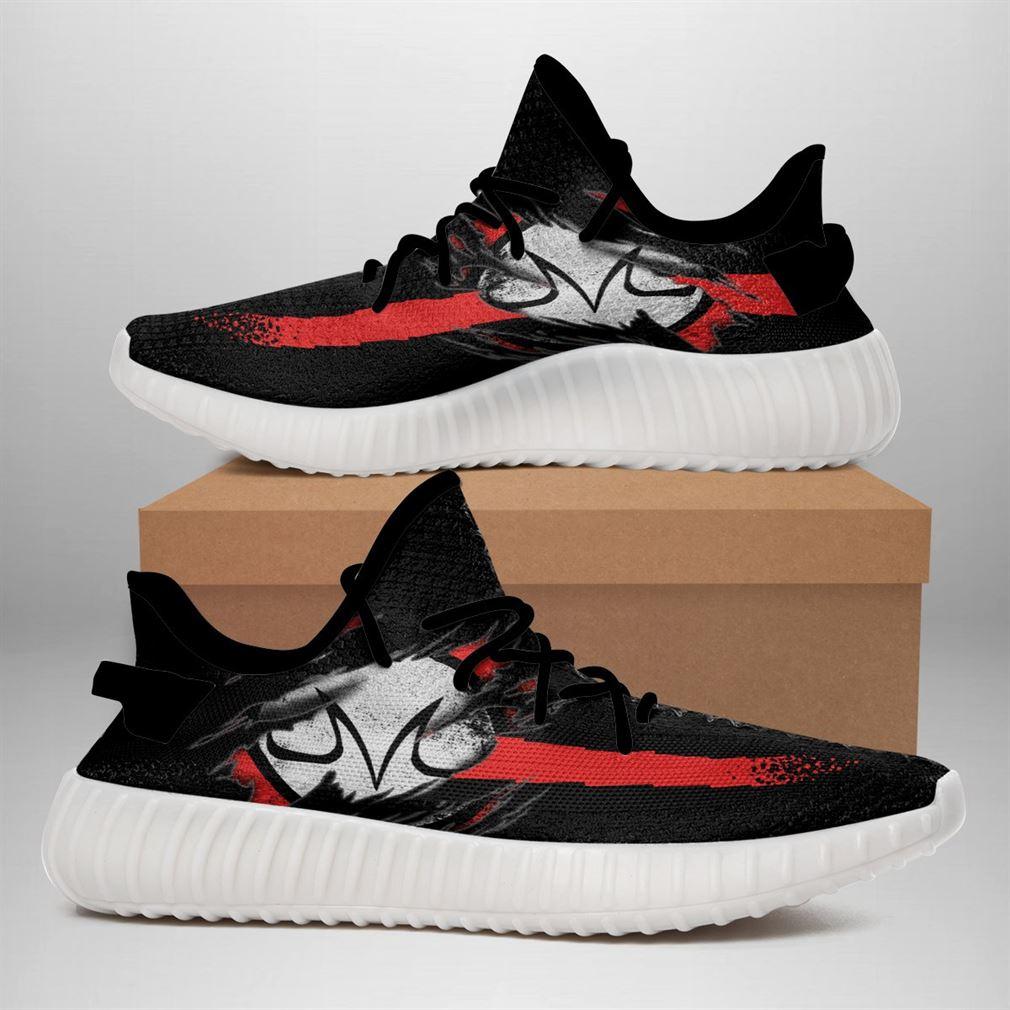 Demon Mark Shoes Dragon Ball Yeezy Sneakers Anime Fan Yeezy Sneakers Shoes White