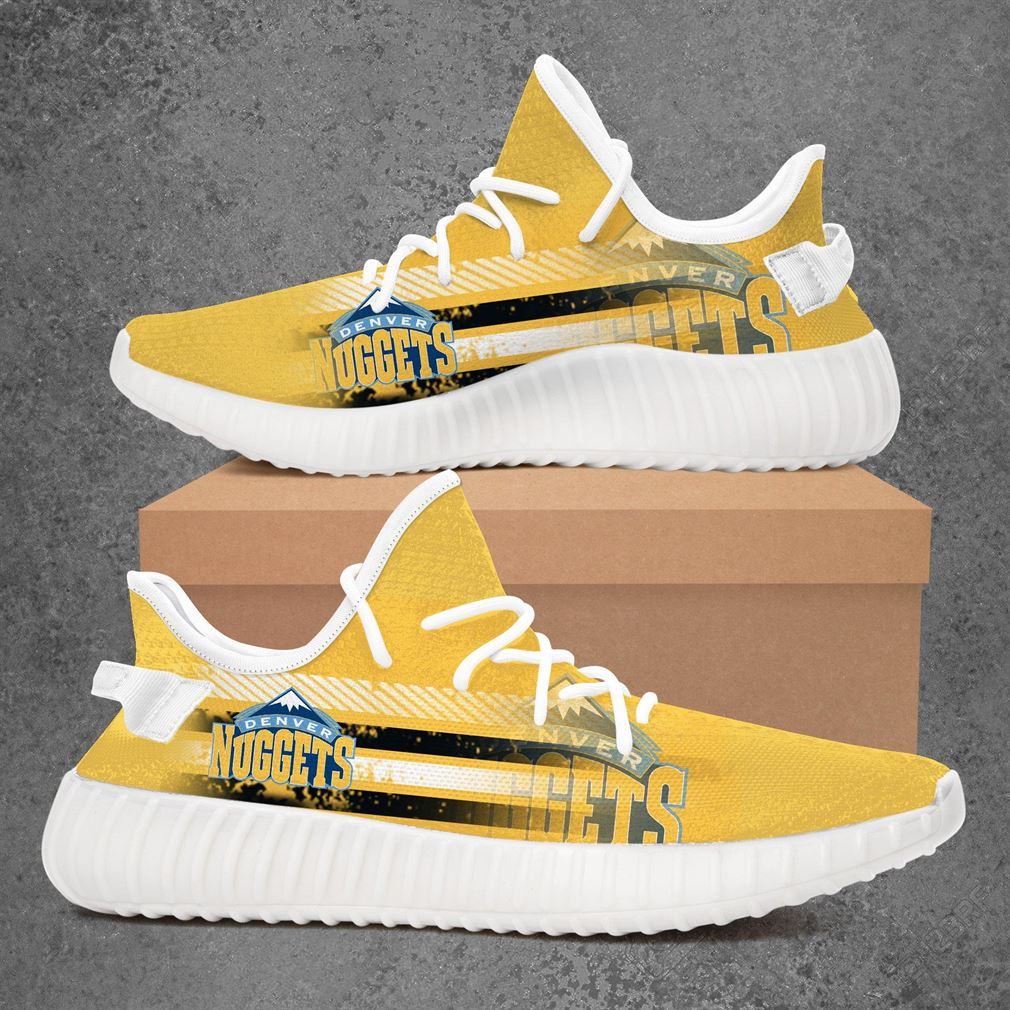 Denver Nuggets Nba Basketball Yeezy Sneakers Shoes