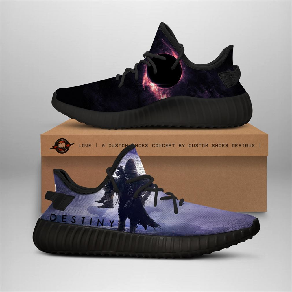 Destiny Style Custom Yeezy Sneakers Shoes