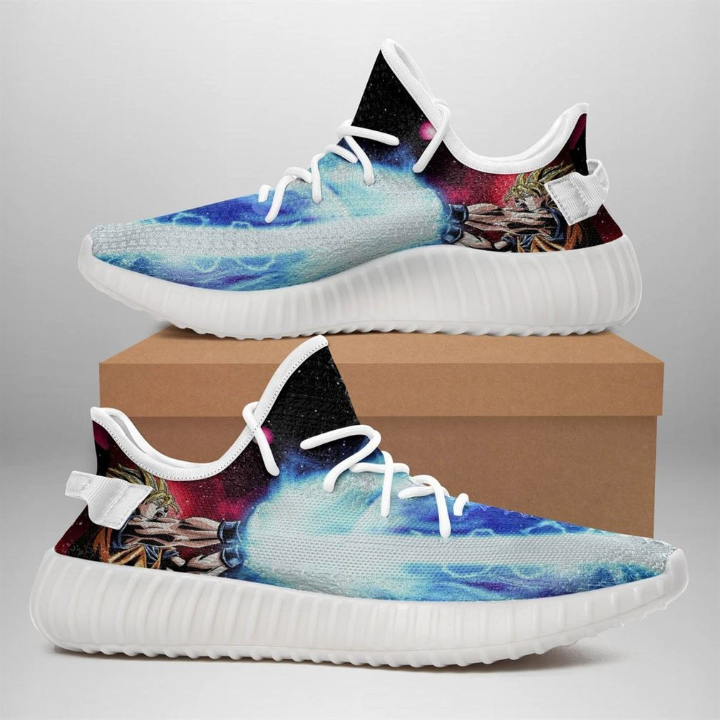 Dragon Ball Yeezy Sneakers Shoes White