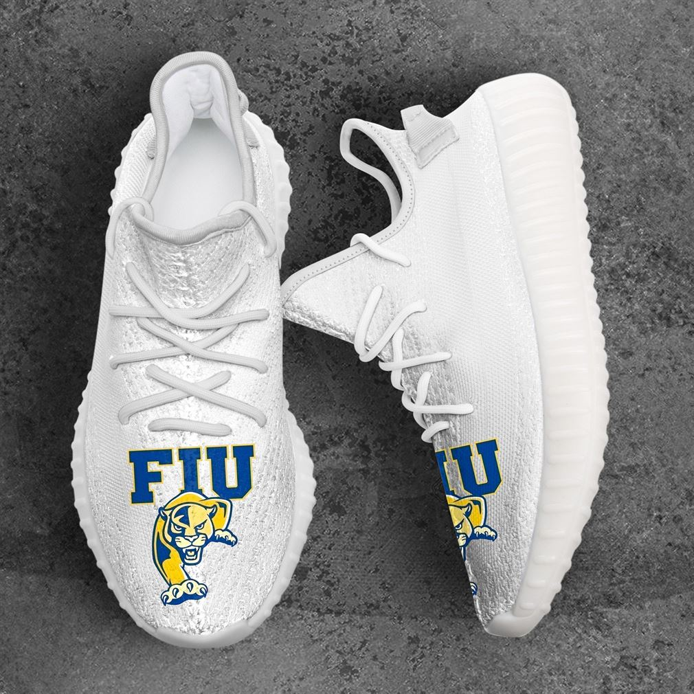 Fiu Panthers Ncaa Sport Teams Yeezy Sneakers Shoes