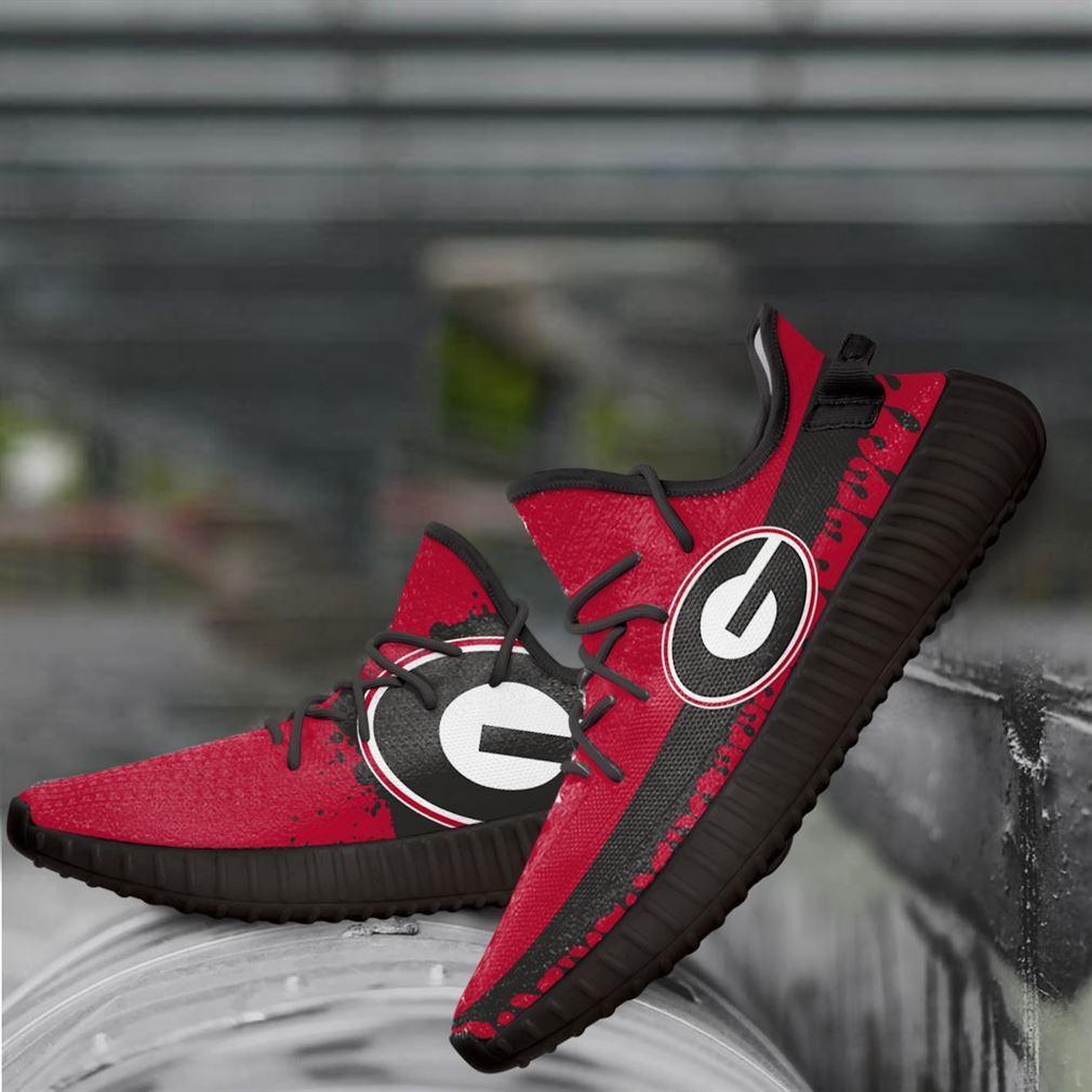 Georgia Bulldogs Ncaa Yeezy Sneakers Shoes