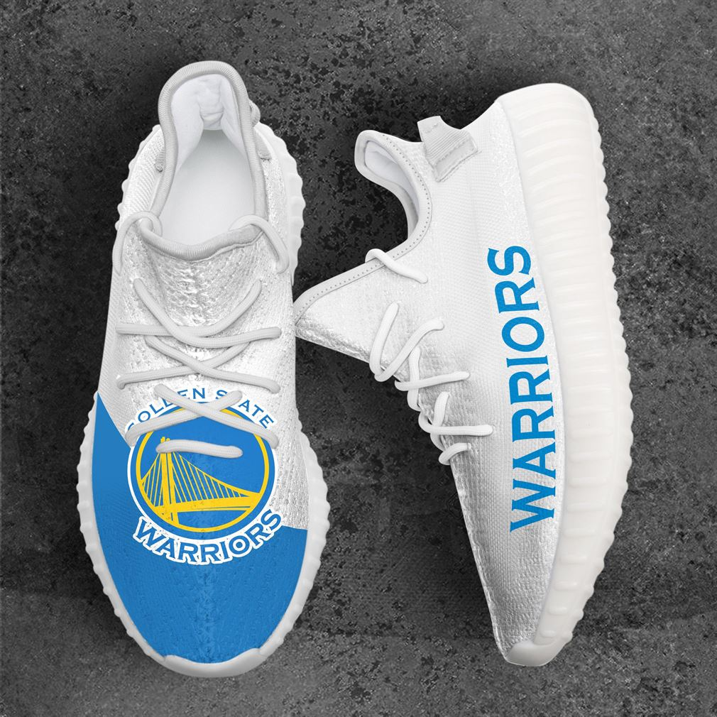 Golden State Warriors Mlb Sport Teams Yeezy Sneakers Shoes White