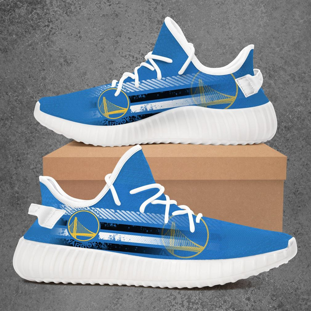 Golden State Warriors Nba Basketball Yeezy Sneakers Shoes