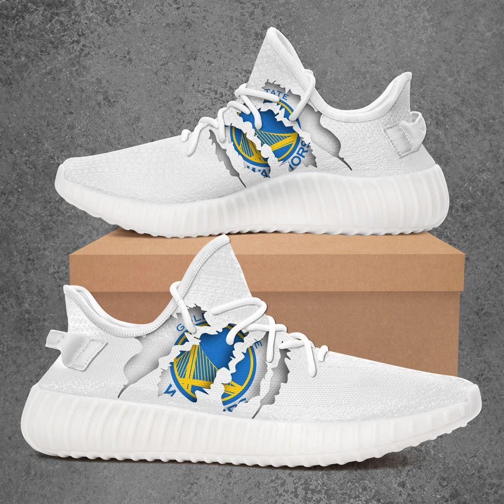 Golden State Warriors Nba Sport Teams Yeezy Sneakers Shoes