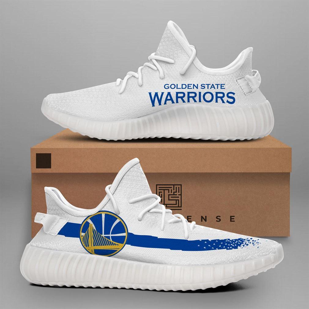 Golden State Warriors Nba Teams Runing Yeezy Sneakers Shoes