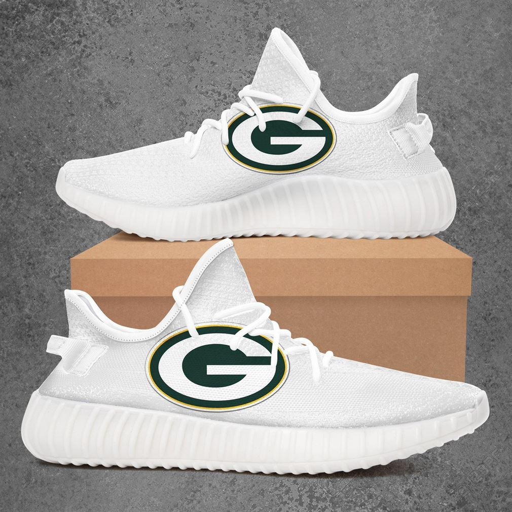 Green Bay Packers Nfl Football Yeezy Sneakers Shoes