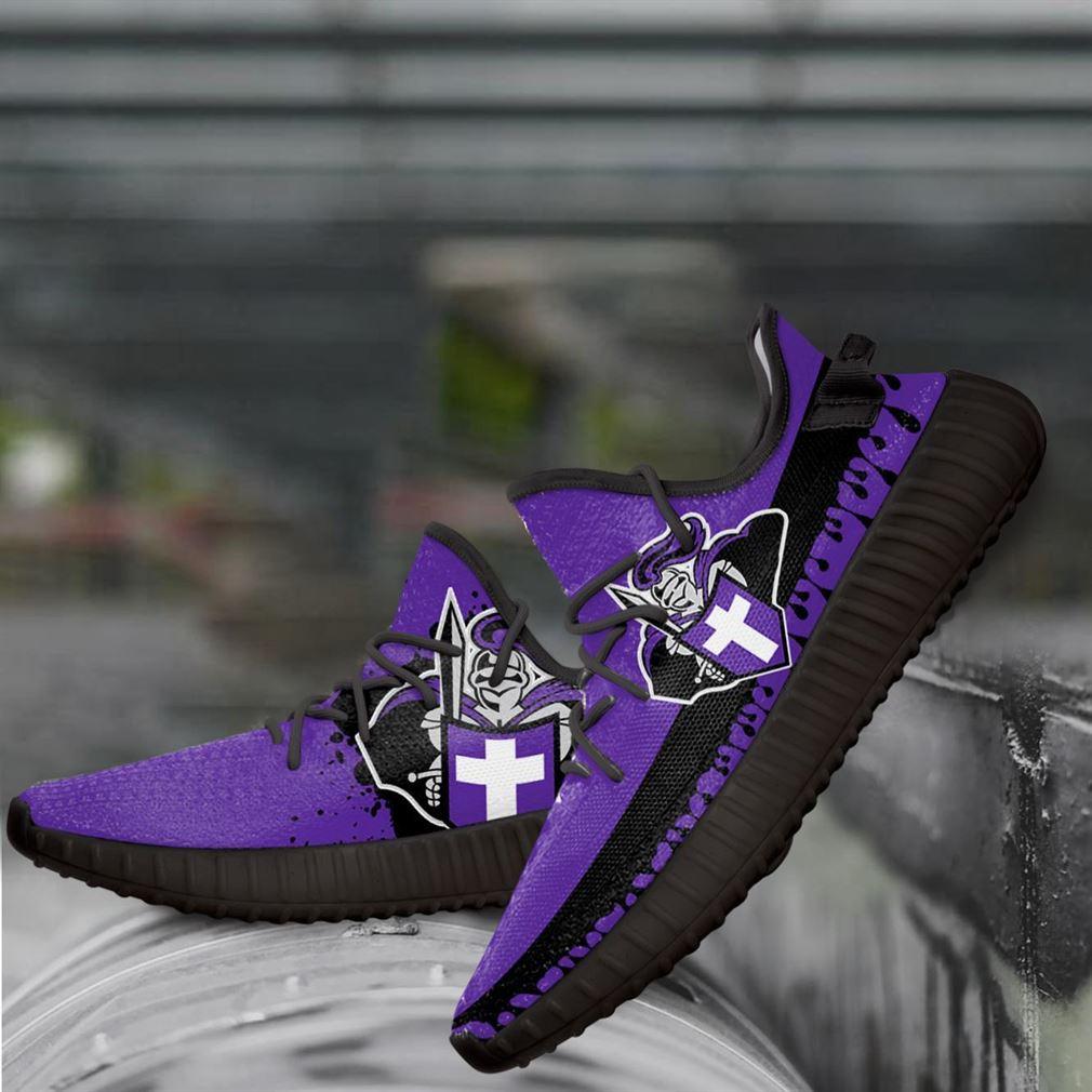 Holy Cross Crusaders Ncaa Yeezy Sneakers Shoes