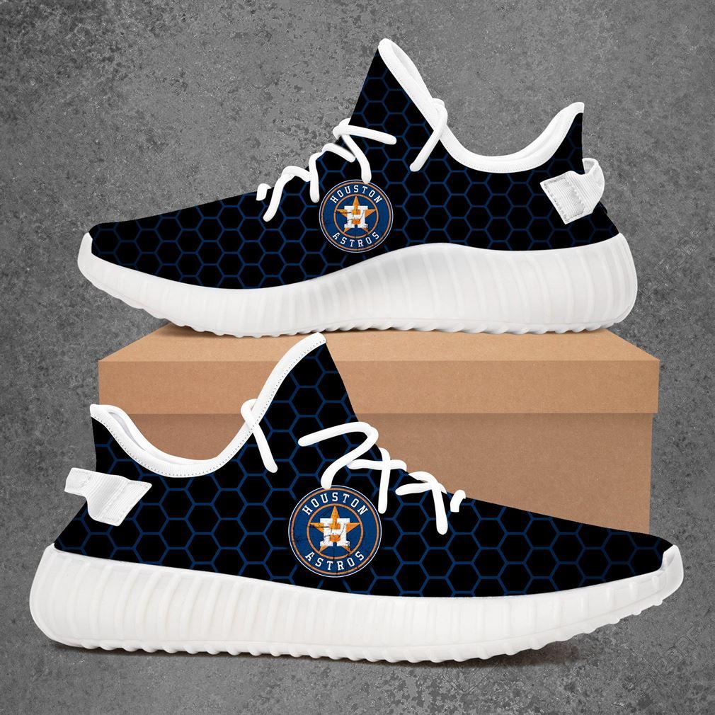 Houston Astros Mlb Baseball Yeezy Sneakers Shoes