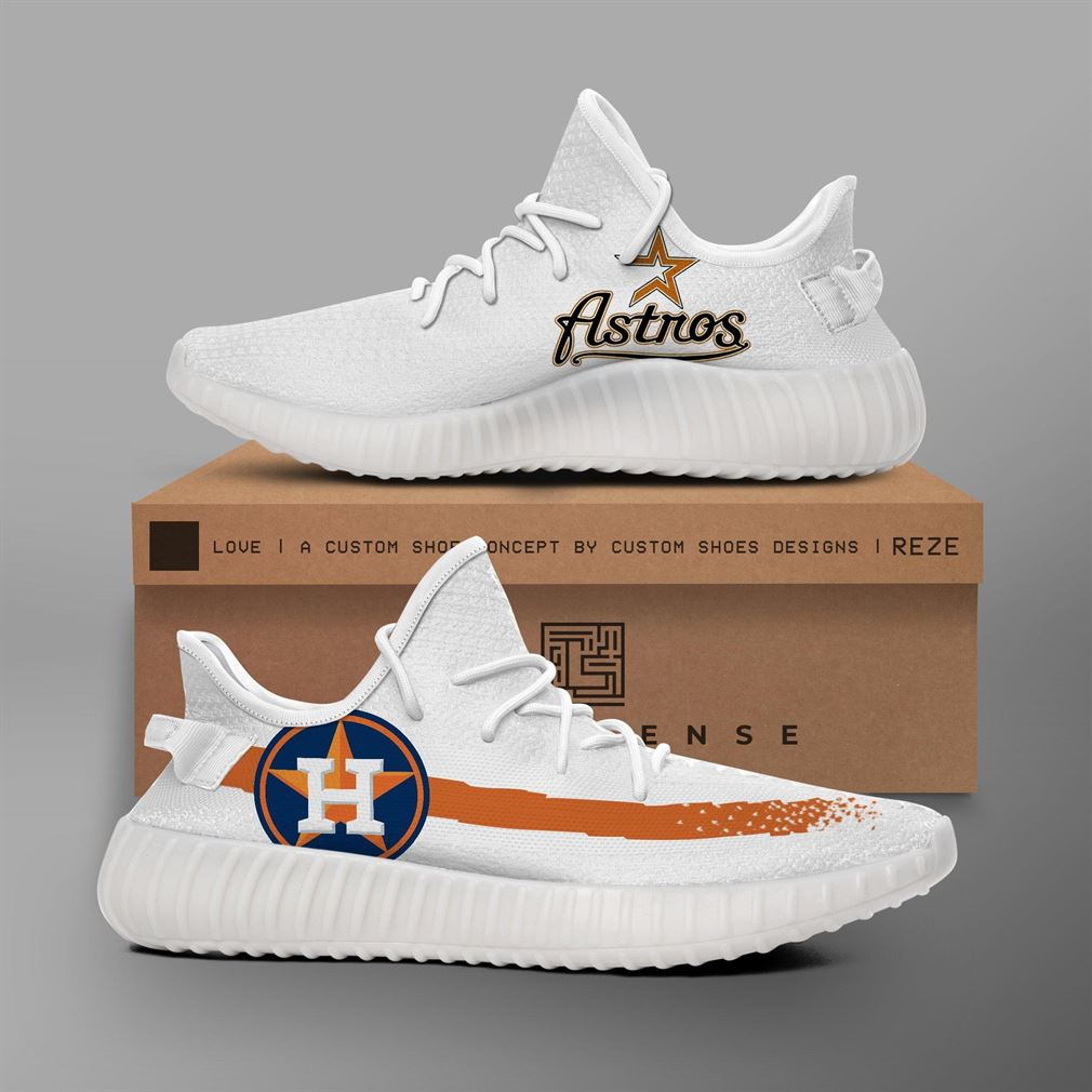 Houston Astros Mlb Teams Yeezy Sneakers Shoes