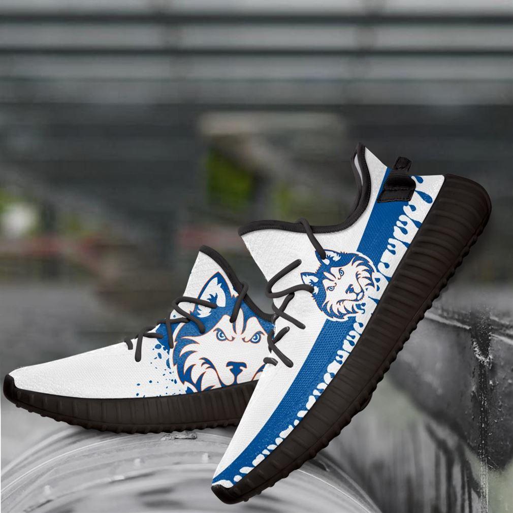 Houston Baptist Huskies Ncaa Yeezy Sneakers Shoes