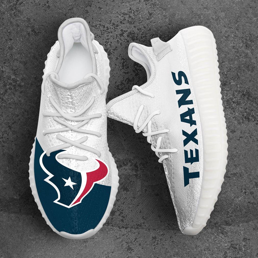 Houston Texans Nfl Sport Teams Yeezy Sneakers Shoes