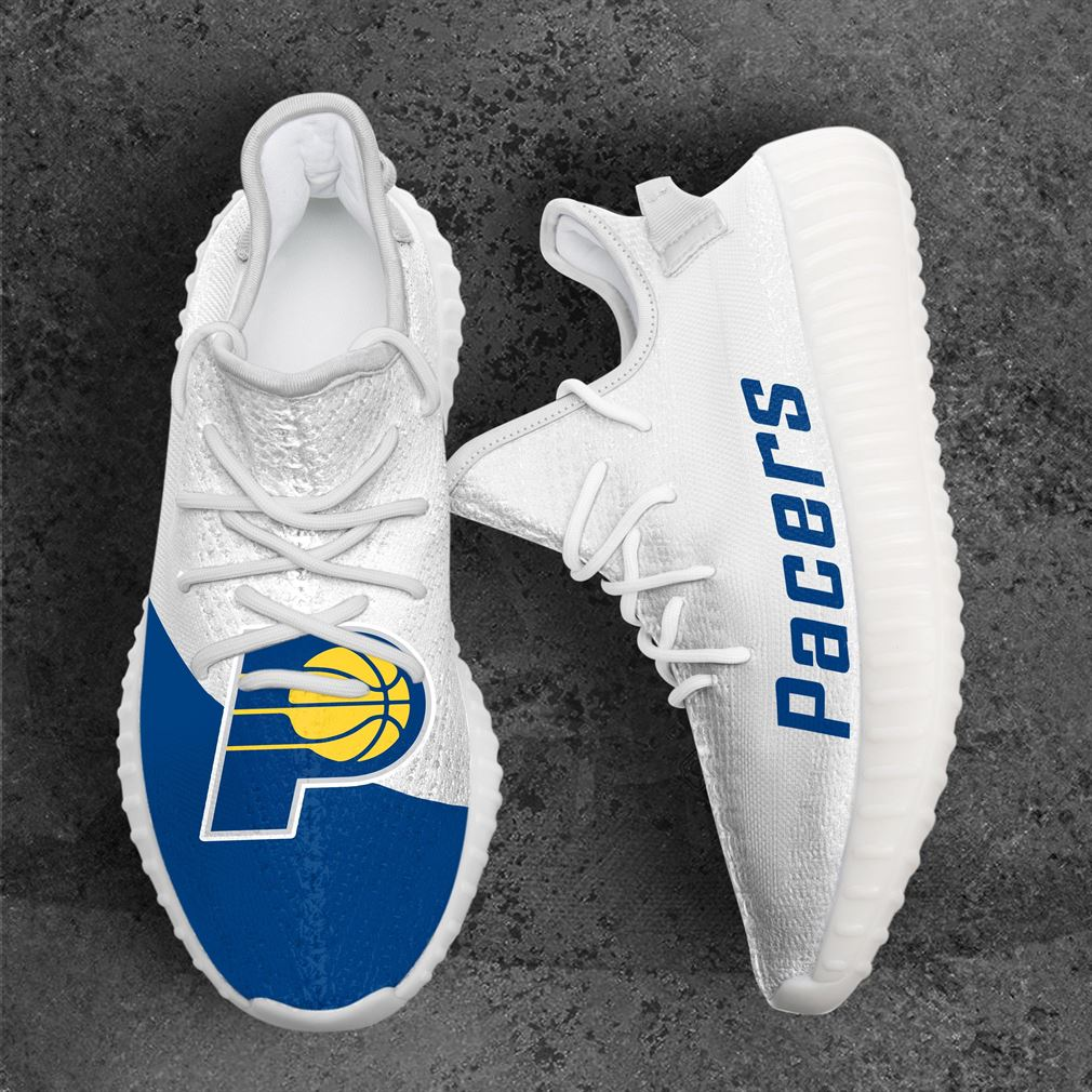 Indiana Pacers Mlb Sport Teams Yeezy Sneakers Shoes White