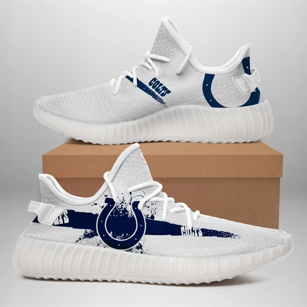 Indianapolis Colts Nfl Sport Teams Runing Yeezy Sneakers Shoes