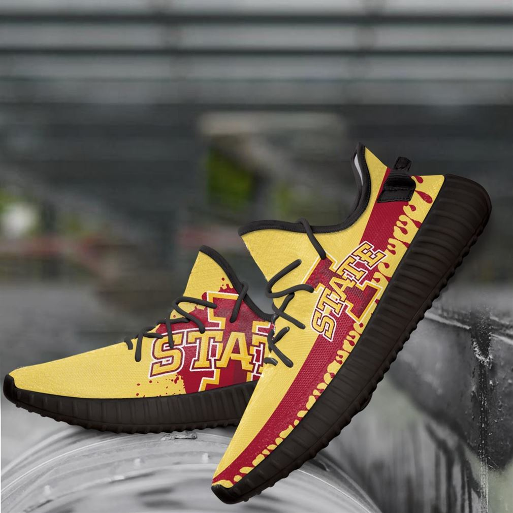 Iowa State Cyclones Ncaa Yeezy Sneakers Shoes