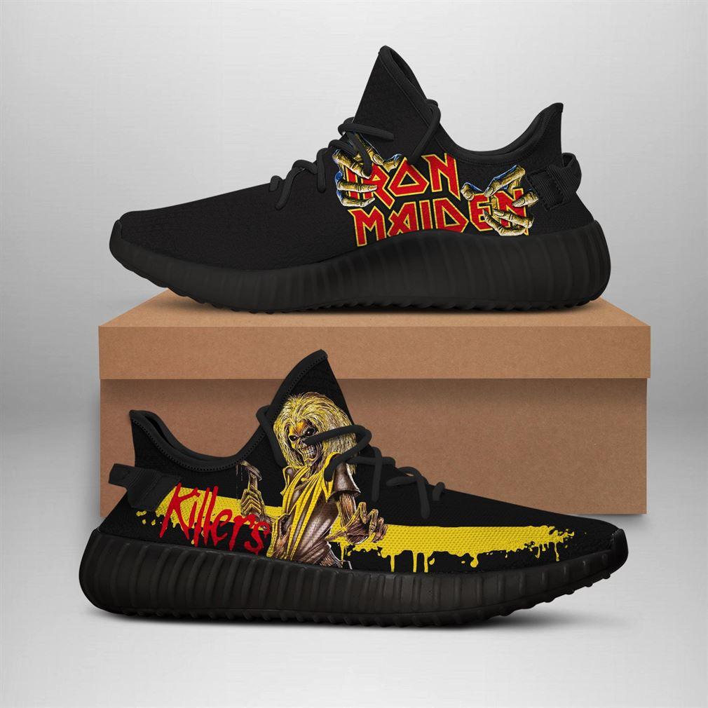 Iron Maiden Killer Adiddas Yeezy Sneakers Shoes