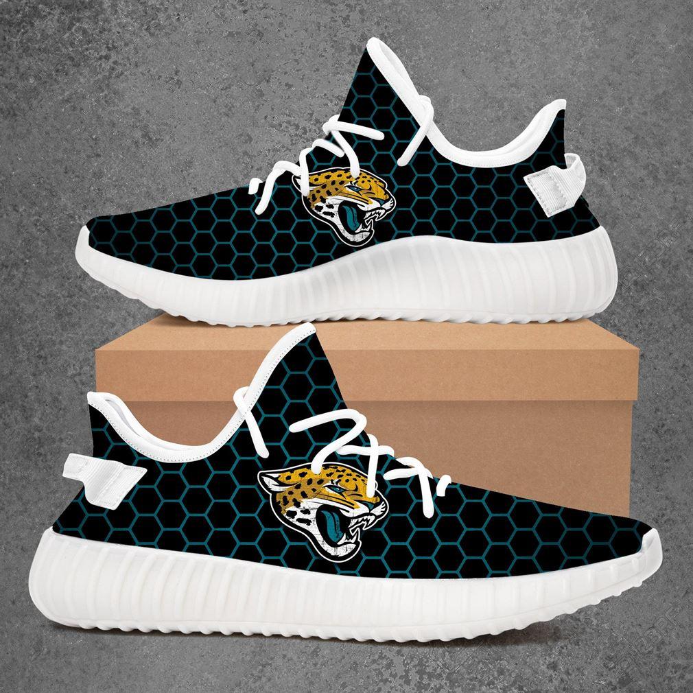 Jacksonville Jaguars Nfl Football Yeezy Sneakers Shoes