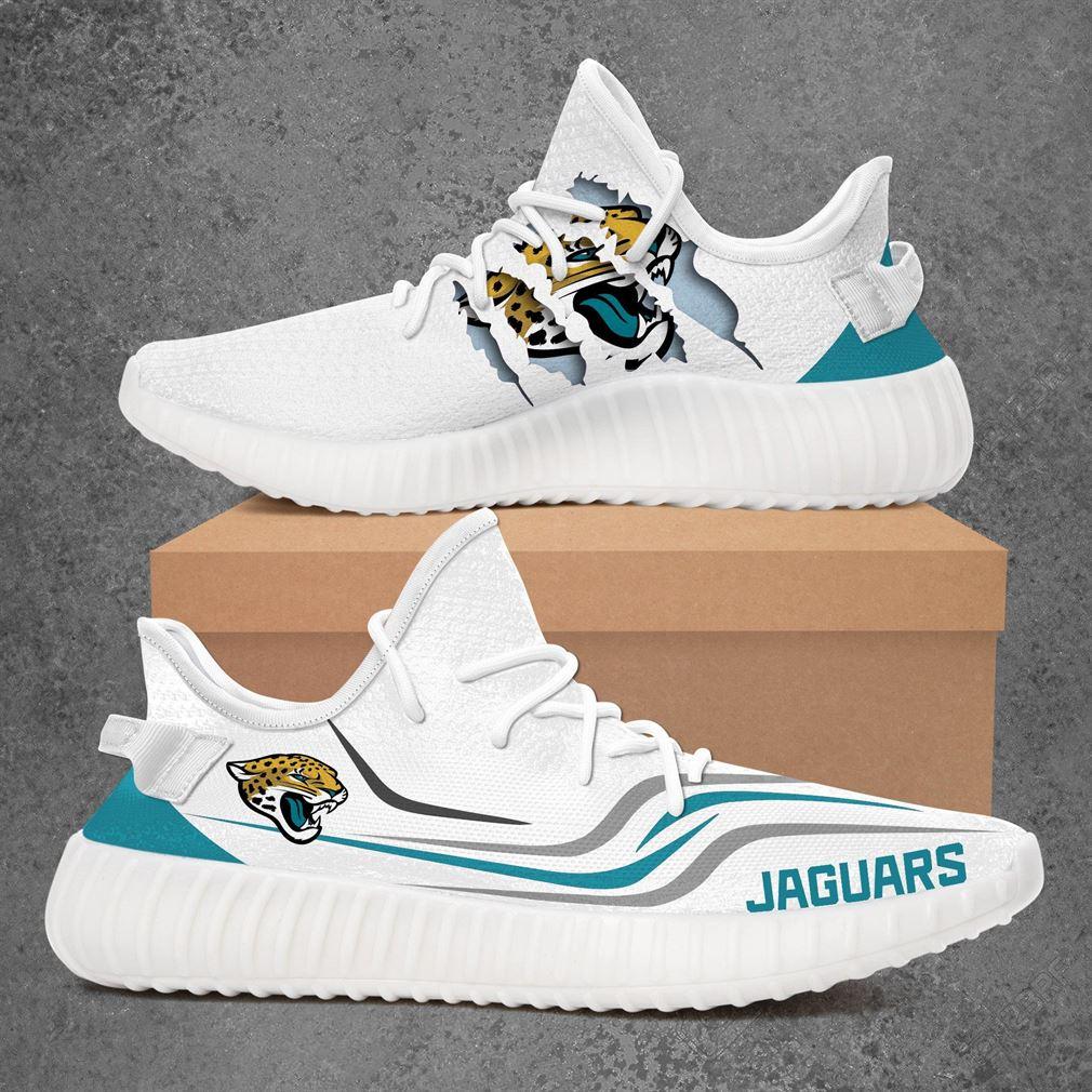 Jacksonville Jaguars Nfl Sport Teams Yeezy Sneakers Shoes R0kdg
