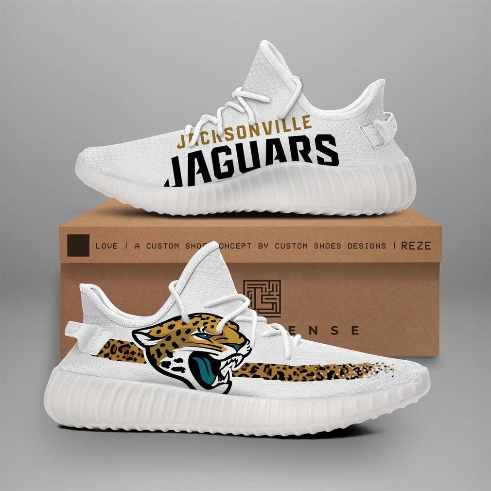 Jacksonville Jaguars Nfl Teams Runing Yeezy Sneakers Shoes