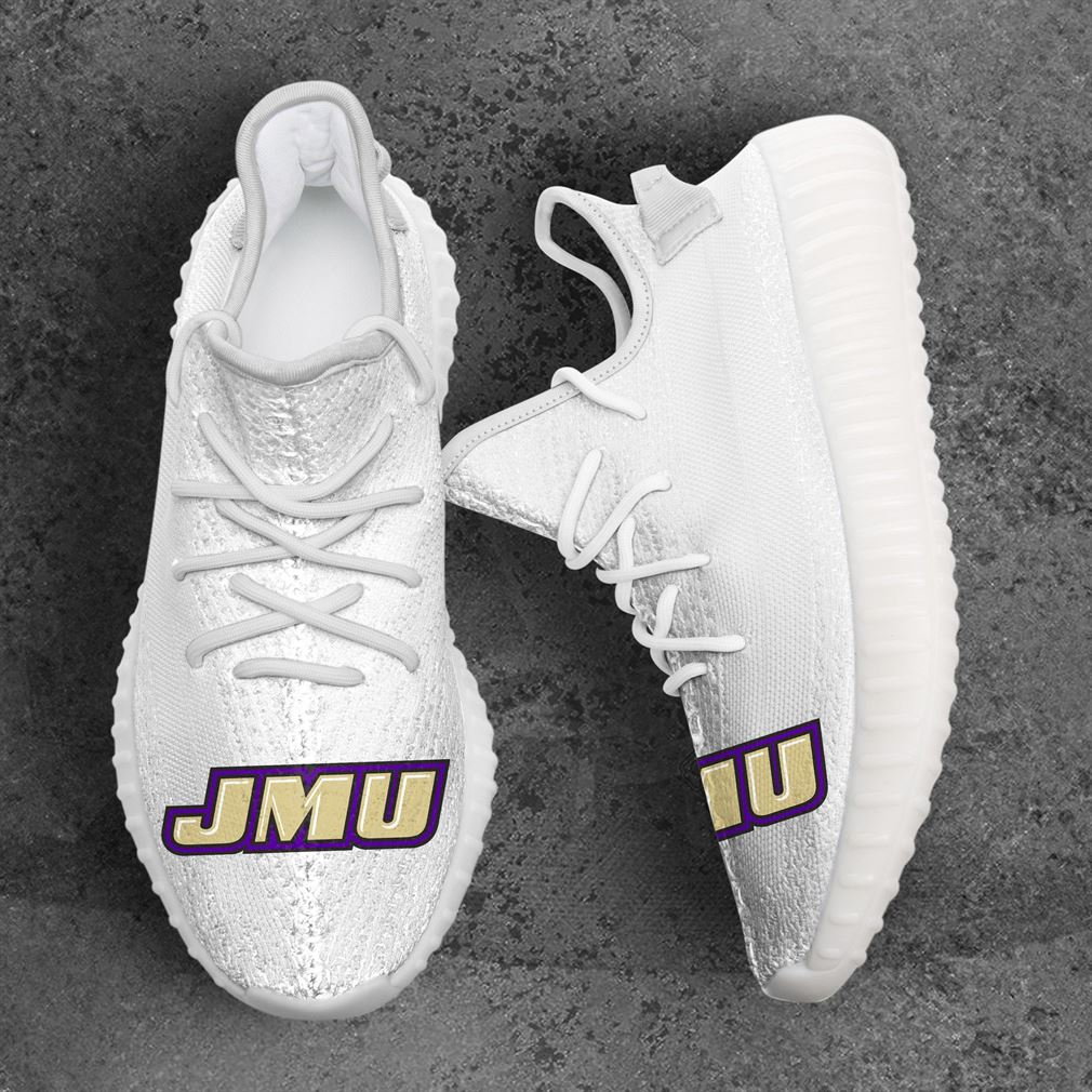 James Madison Dukes Ncaa Sport Teams Yeezy Sneakers Shoes