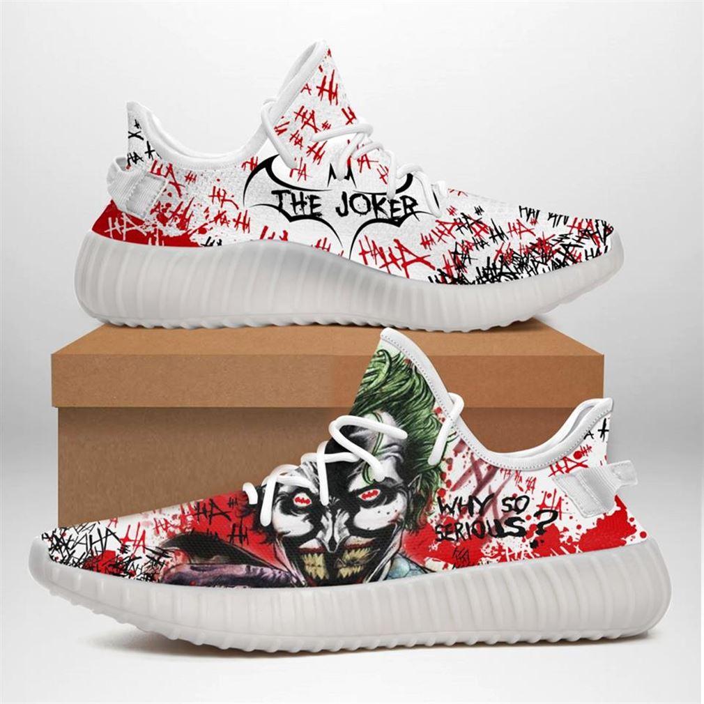 Joker Custom Yeezy Sneakers Shoes