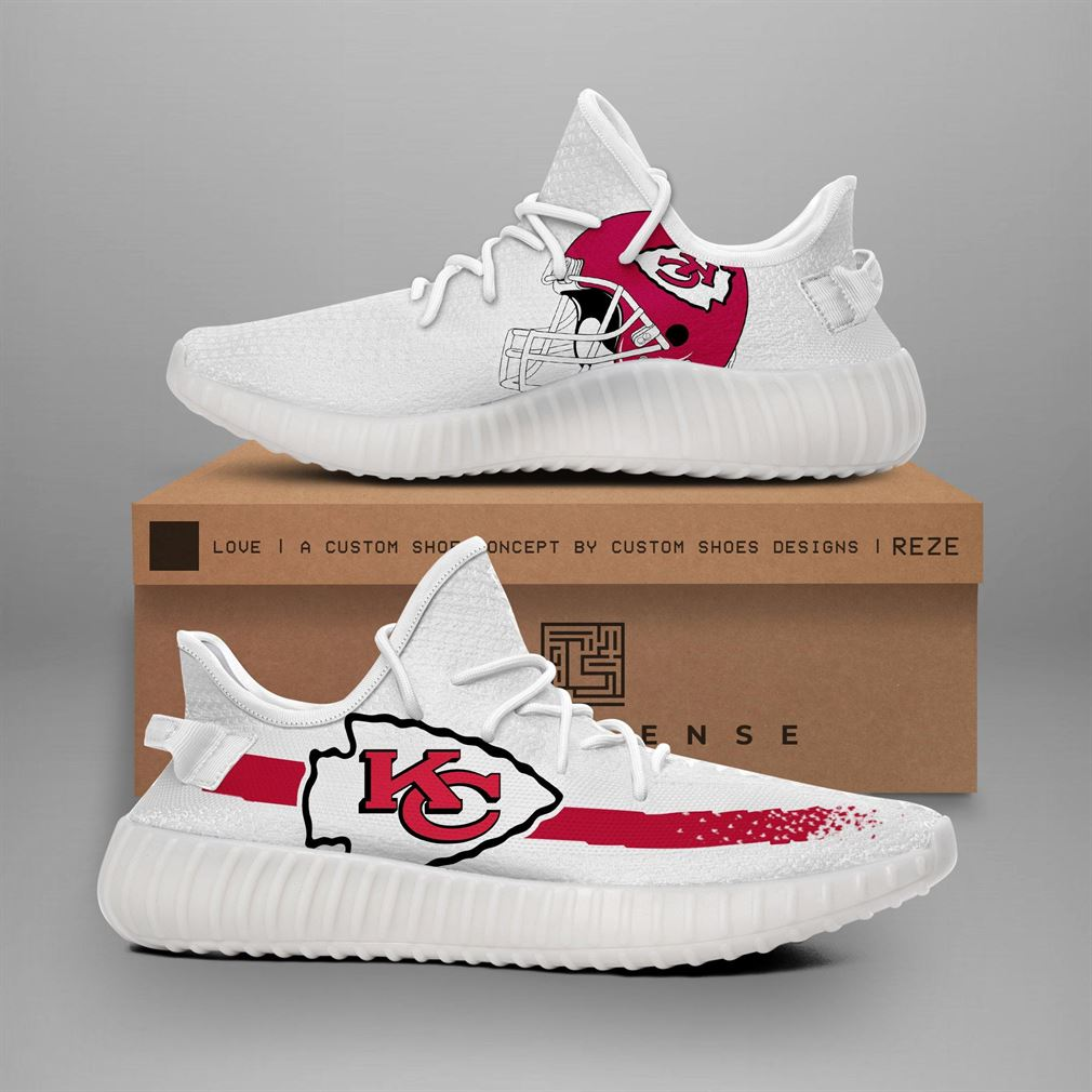 Kansas City Chiefs Nfl Teams Yeezy Sneakers Shoes